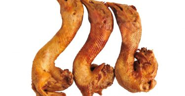 dried chicken necks for dogs